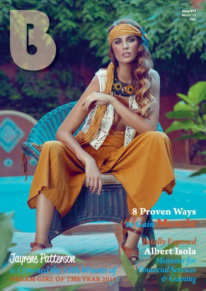 bmagazine cover